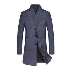 Best Gang - Stand-Collar Button Coat