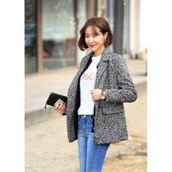 ssongbyssong - Wool Blend Herringbone Jacket