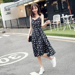 EFO - Sleeveless Floral Dress