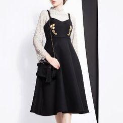 Halona - Sleeveless Midi Dress