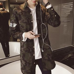 Besto - Camouflage Long Jacket