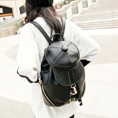 Manipelt - Genuine-Leather Backpack