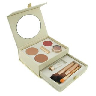 Jane Iredale - Starter Kit - Mahogany (2x Pressed Powder + Moisture Tint + Concealer + Blush + Lip Plumper + 3x Brush)