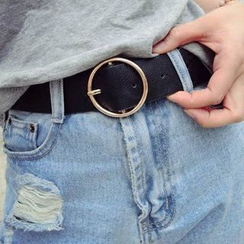 INKLEE - Faux-Leather Belt