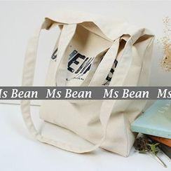 Ms Bean - Lettering Shopper Bag