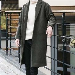 STYLEMAN - Single-Breasted Long Coat