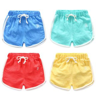 Seashells Kids - Kids Piped Sweat Shorts