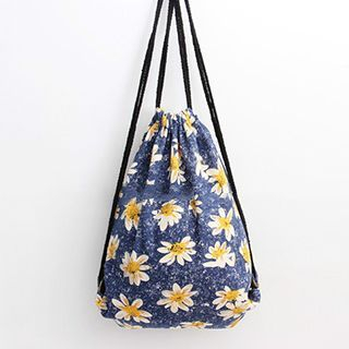 Ms Bean - Floral Backpack