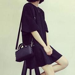 Cloud Nine - 喇叭中袖连衣裙