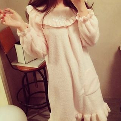 Happy Bird - Long-Sleeve Nightdress