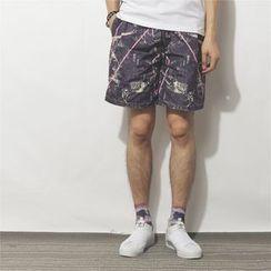 Mr.C studio - Printed Shorts
