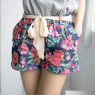 Tokyo Fashion - Floral Shorts