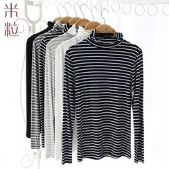Grainie - Striped Long Sleeve Maxi Dress