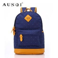Ausqi - Patterned Canvas Backpack