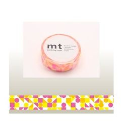mt - mt Masking Tape : mt 1P Cricle Triangle & Square (Pink)