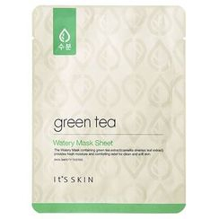 伊思 - Green Tea Watery Mask Sheet 1pc