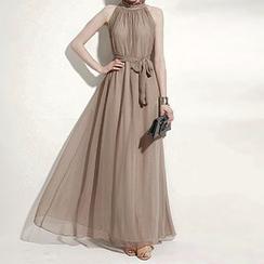 Fashion Street - Sleeveless Maxi Dress