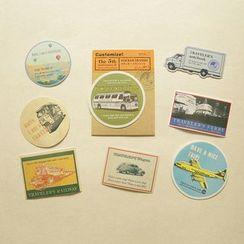 Paper House - Vintage Sticker