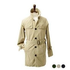 byCLASSIC - Single-Breasted Trench Coat with Sash