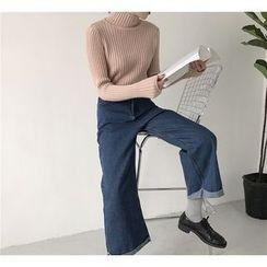 MISS YOYO - Wide Leg Jeans