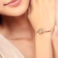 Cheermo - Rhinestone Rose Bracelet
