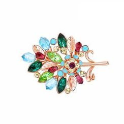 Italina - Swarovski Elements Crystal Bird Brooch