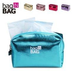 Bag In Bag - Metallic Cosmetic Bag