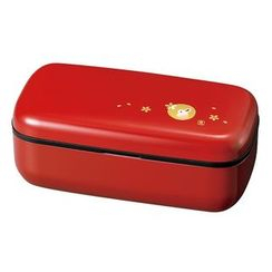 Hakoya - Hakoya Slim One Layer Lunch Box Aka Hanko Usagi