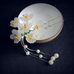 Rivermoon - Flower Dangling Hair Stick