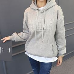 DANI LOVE - Brushed-Fleece Lined Hooded Pullover
