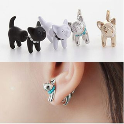 Ginga - Cat Through & Through Earrings