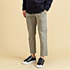 THE COVER - Drawstring-Waist Straight-Cut Pants