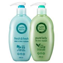 HAPPY BATH - Set: Pure Lady Feminine Cleanser 200ml + Fresh & Fresh Feminine Cleanser 200ml