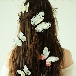 Neostar - Set of 12: Butterfly Hair Clip