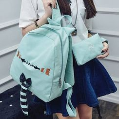 MooMoo Bags - Tail Canvas Backpack