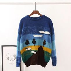 TOJI - Printed Sweater