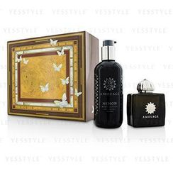 Amouage - Memoir Coffret: Eau De Parfum Spray 100ml/3.4oz+ Body Lotion 300ml/10oz
