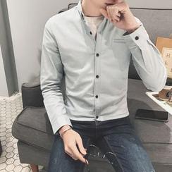 Besto - 纯色衬衫