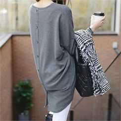 PIPPIN - Buttoned-Back Mini Dress