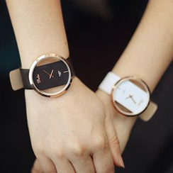 Honey Bee - Couple Matching Strap Watch