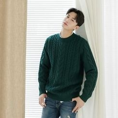 Seoul Homme - Cable-Knit Sweater