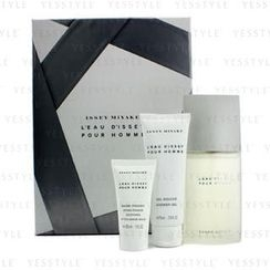 Issey Miyake - Issey Miyake Coffret: Eau De Toilette Spray 75ml/2.5oz + Shower Gel 75ml/2.5oz + After Shave Balm 30ml/1oz