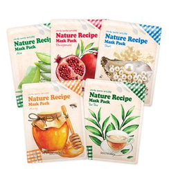 Secret Key - Nature Recipe Mask Pack Set 10pcs