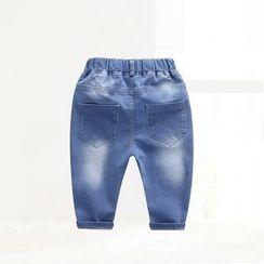 ciciibear - 童装熊牛仔裤