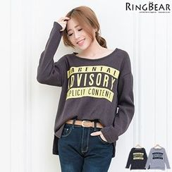 RingBear - Long Sleeve Printed Tee