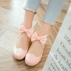 Parkwalker - 蝴蝶结平跟鞋