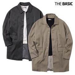 Seoul Homme - Single-Breasted Pocket-Detail Jacket