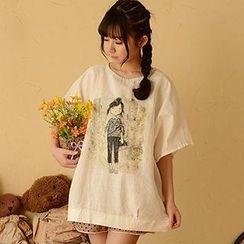 Moriville - Print T-Shirt