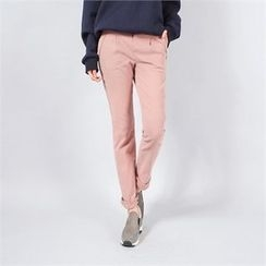Styleberry - Banded-Waist Pants