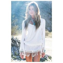 Sunset Hours - Tassel Cover-Up